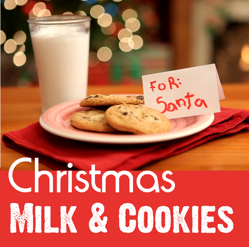 Christmas Milk & Cookies magic trick gospel