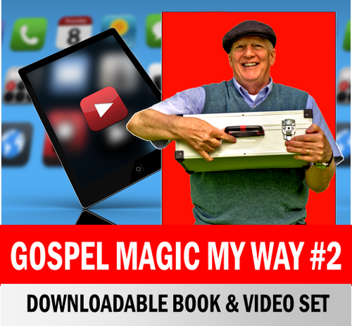 Scott Devers Video & Book Set Gospel Magic x26 Tricks Download