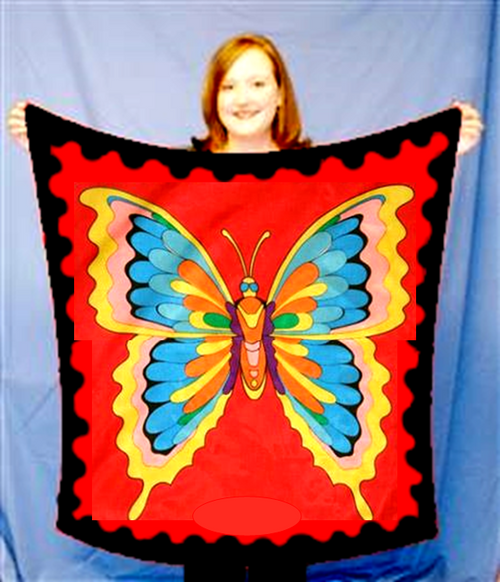 Large Butterfly Silk Magic Trick Gospel