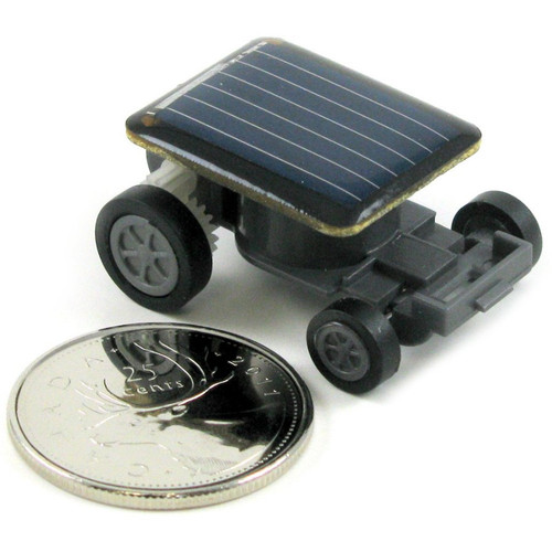 SPECIAL - World's Smallest Solar Powered Car - Science Magic - Power of Light - Light of Christ