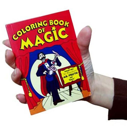Pocket Sized Colouring Book Magic Makers Gospel Trick