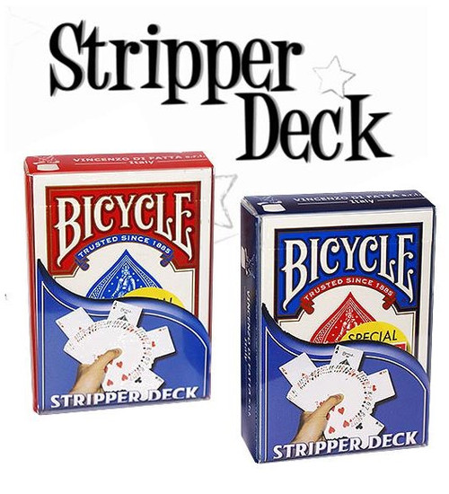 Stripper Deck Magic Trick Cards Gospel