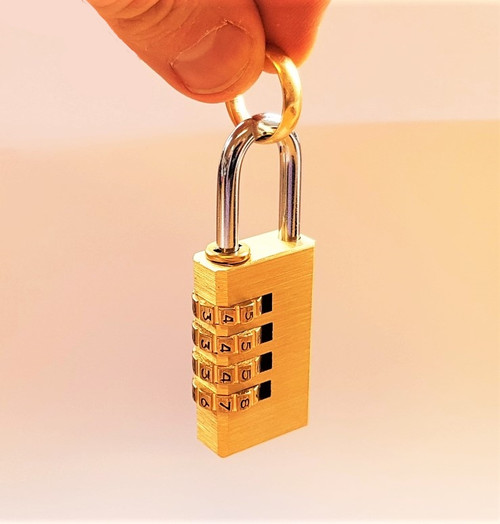 Perfect Combination Mentalism Lock Ring Prediction Padlock Magic Trick Gospel