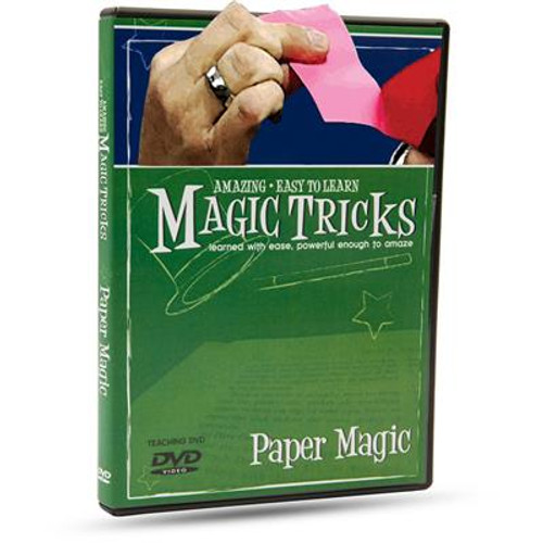 Magic Tricks DVD Paper Magic Makers Gospel