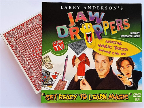 Jaw Droppers DVD magic Trick Svengali Deck TV