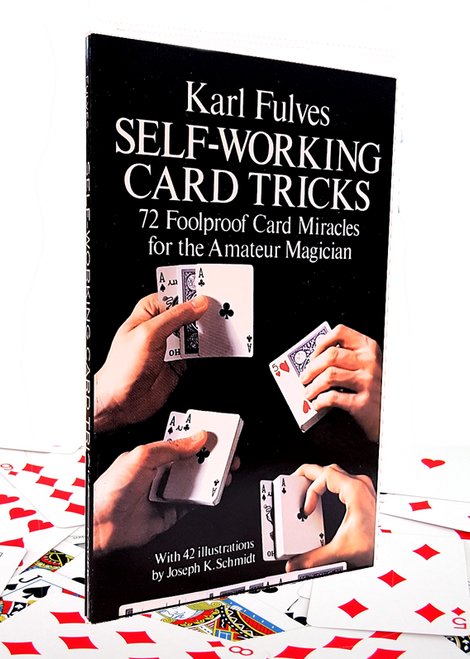 Karl Fulves Self Working Card Tricks Book Gospel