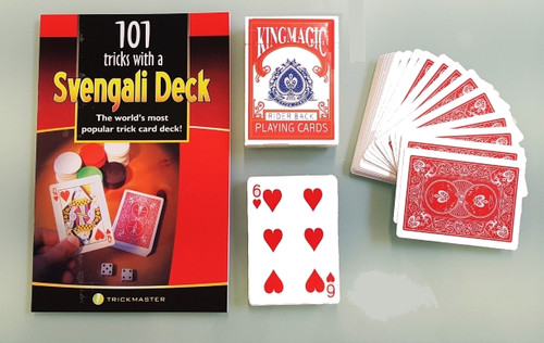 Svengali Deck Complete Set Value Card Magic Trick Gospel