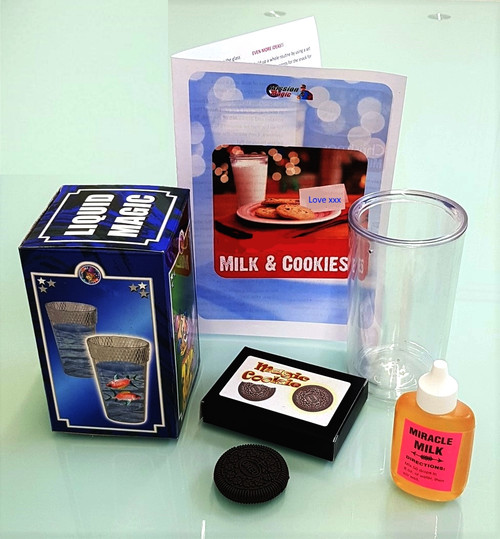Bite Out Cookie Wonder Glass Miracle Milk Magic Trick
