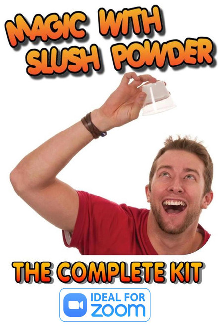 Magic with Slush Powder Complete Kit Gospel Lesson Trick