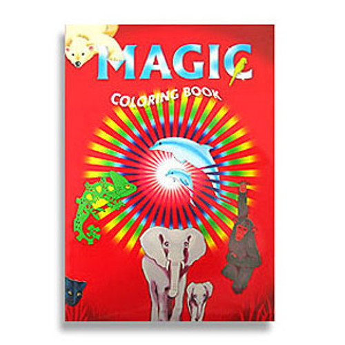 Animal Magic Colouring Book Trick Children Gospel Difatta