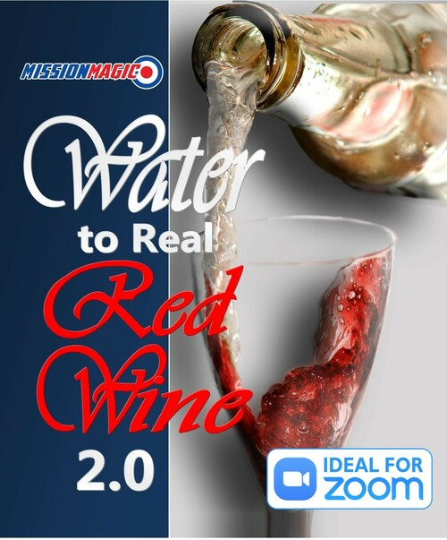 Water to Wine Magic Trick Jesus Miracle Gospel