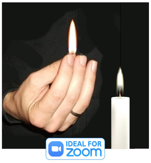 Vernet Thumb Tip Flame Magic Trick Gospel Christian