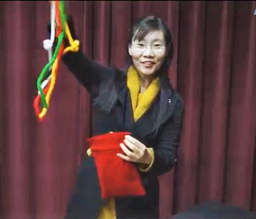Wordless cords rope gospel magic trick kids