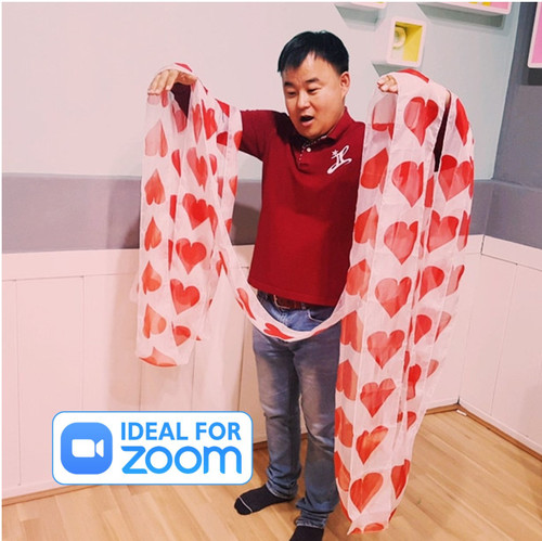 Heart silk streamer Gospel Magic Trick Children