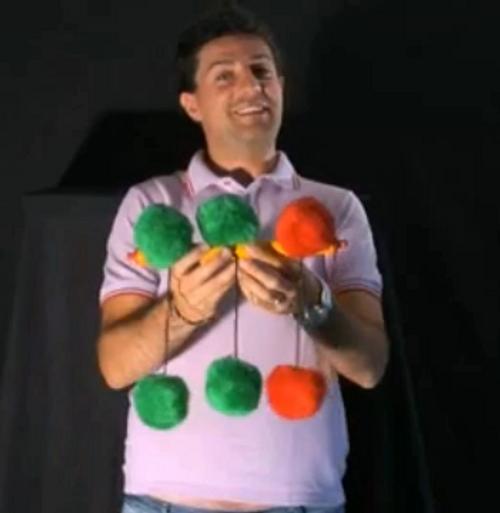 Jumping Pom Pom Difatta Magic Trick Gospel Children Funny Comedy