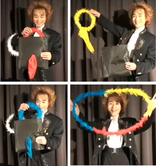 Colour Changing Wreaths Magic Trick Gospel Kids