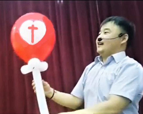 Magic Heart Balloon Gospel Magic Children