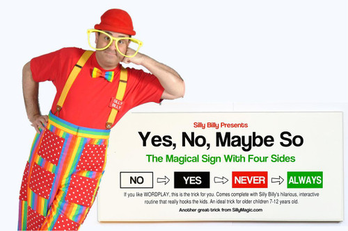 Yes No Maybe So Silly Billy Magic Trick Gospel Funny Kids