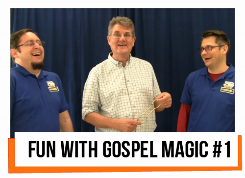 Fun with Gospel Magic #1 Paul Morley Children School Church