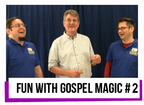 Fun with Gospel Magic #2 by Paul Morley Church School Youth Children