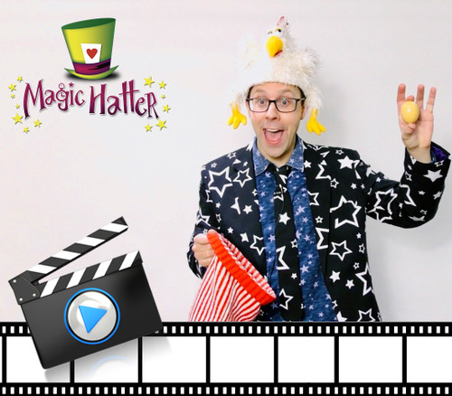 Magic Hatter Comedy Magic Show Children York Funny Tricks