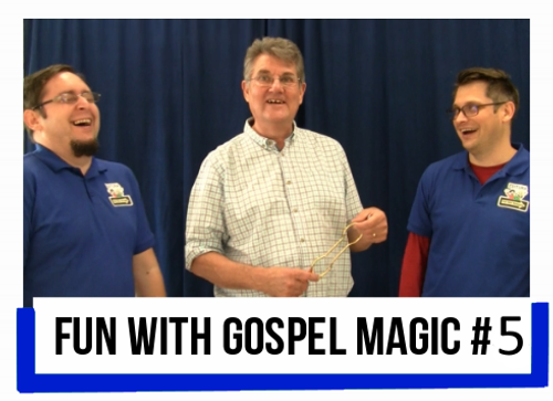 Fun with Gospel Magic Paul Morley Tricks Church Schools Kids