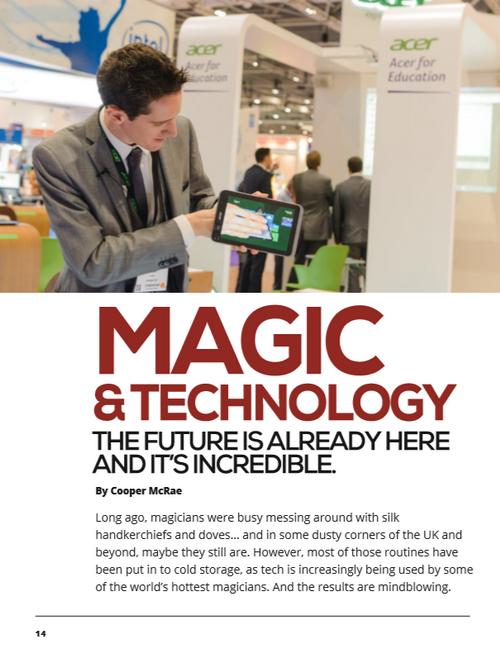 Magicseen Lite 6 Magazine UK Tricks