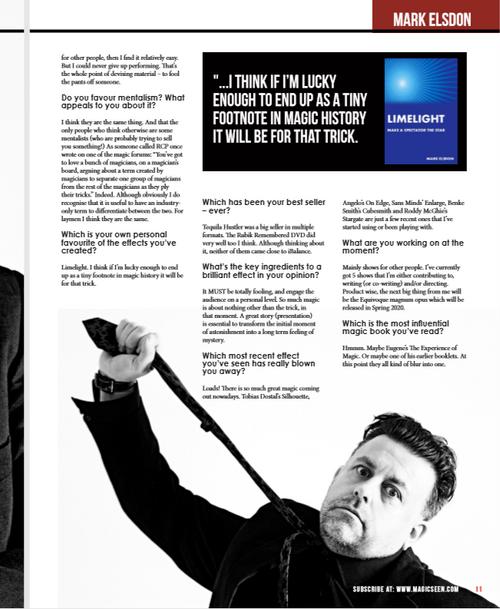 Magicseen Lite 5 Magazine UK Tricks