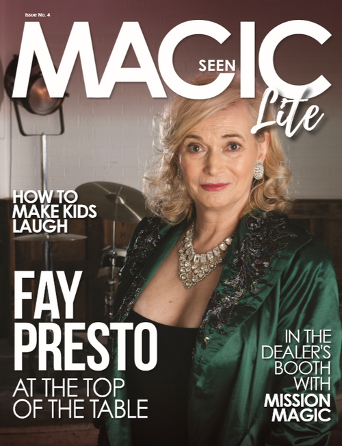 Magicseen Lite 4 Magazine UK Tricks