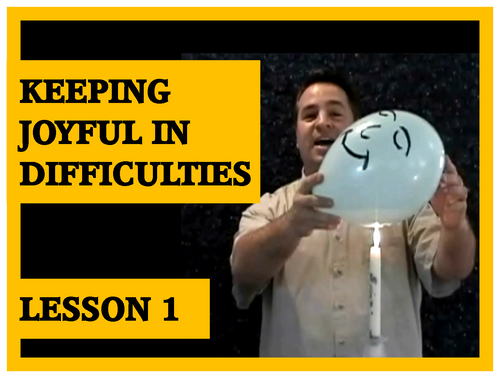 Gospel Magic Lesson Trick 1 Joyful in Difficulties