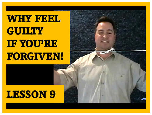 Gospel Magic Lesson Trick 9 Why feel guility if god has forgiven you!
