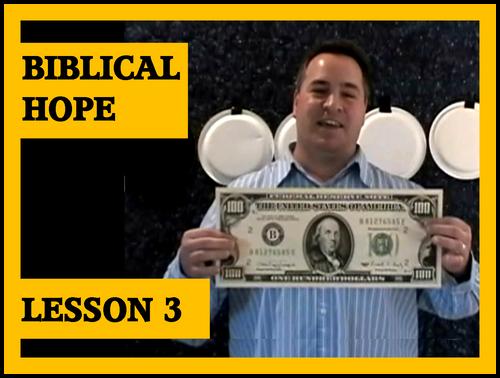 Gospel Magic Lesson Trick 3 - Biblical Hope vs Human Hope