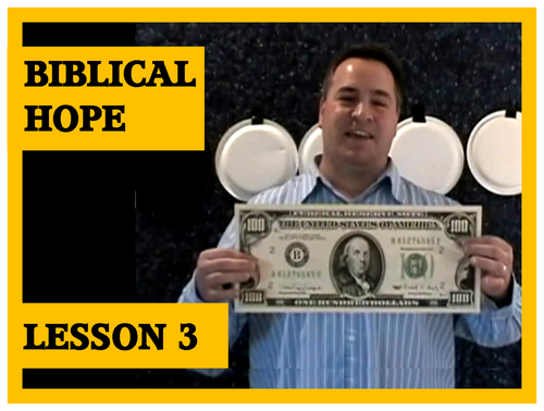 Gospel Magic Lesson Trick 3 - Biblical Hope vs Human Hope