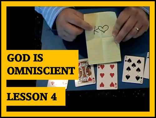 Gospel Magic Lesson Trick 4 - God is Omniscient