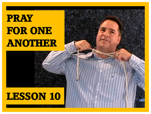 Gospel Magic Lesson Trick 10 - Pray for Another