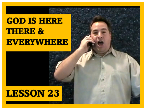 Gospel Magic Lesson Trick 23 God is everywhere
