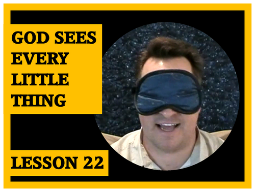 Gospel Magic Lesson Trick 2 God Sees Every Little Thing