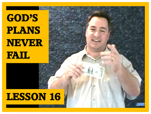 Gospel Magic Lesson Trick 14 God's Plans Never Fail