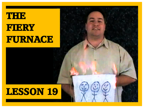 Gospel Magic Lesson Trick 19 - The Fiery Furnace - Staying Faithful to God in hard times