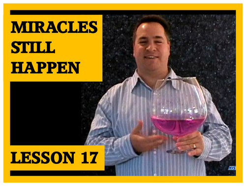 Gospel Magic Lesson Trick 17 Water to Wine Miracles Still Happen