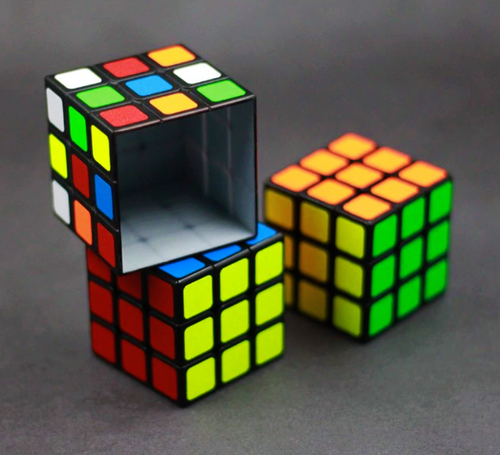 Rubiks Cube Magic Trick Shell Gospel