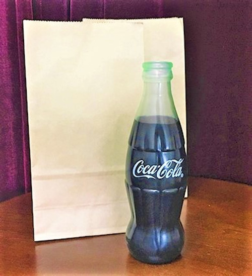 Vanishing Appearing Coke Bottle Latex magic Trick