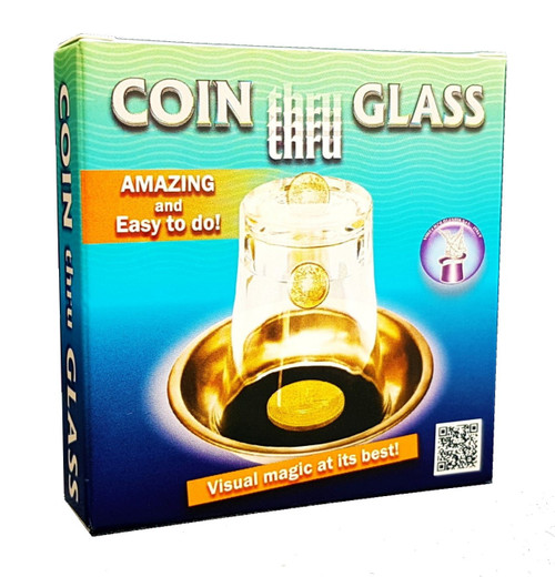 Coin Thru Glass Difatta Magic Trick Gospel