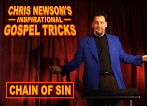 Chris Newsom Gospel Magic Tricks eBook Videos Training Kids Church Jesus