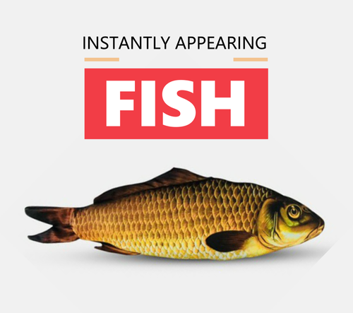 Instant Appearing Fish Magic Trick Gospel