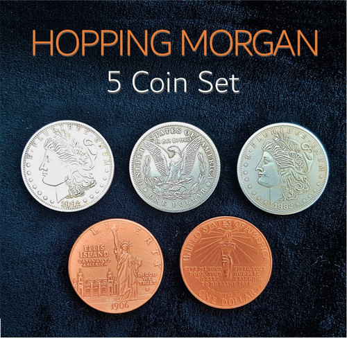 Hopping Morgan Coin Magic Trick Gospel Oliver