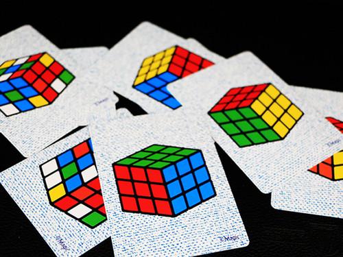 Crazy Cube Card Magic Trick Gospel Rubik