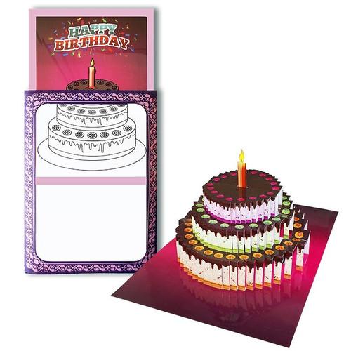 3D Birthday Cake Surprise Magic Trick Colouring Gospel Difatta Children