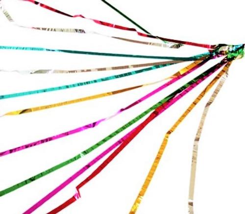 Mylar Throw Coils Multicoloured