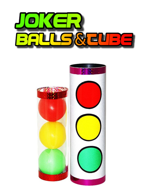 NEW - Joker Balls & Tube -  Balls Magically Change Order - Making God a Priority - Trinity